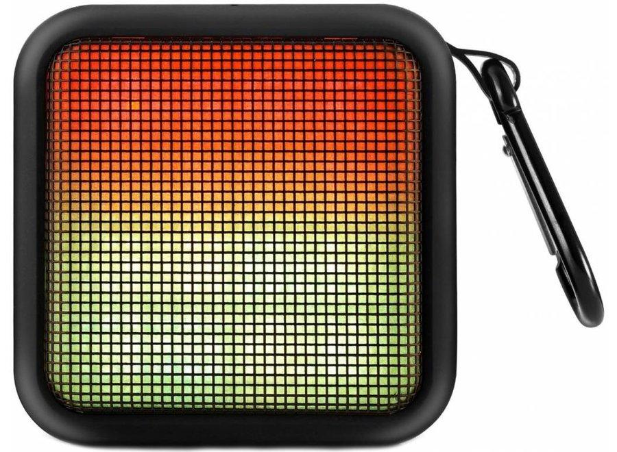Lenco Portable Party LED Bluetooth Speaker - Zwart