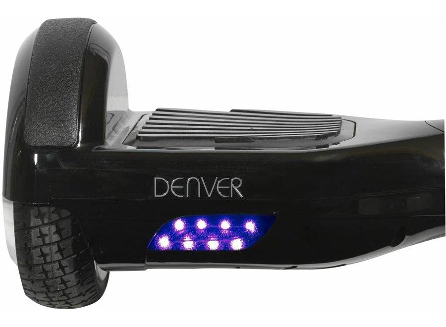 Denver DBO-6500 LED Hoverboard 6,5 inch - Zwart