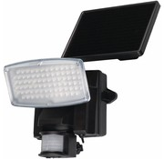 Ranex Ranex Liverpool Solar Wandlamp met Bewegingsmelder - Zwart