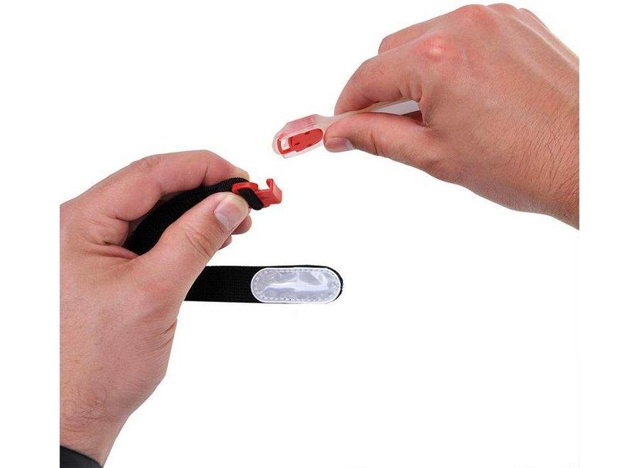 ProPlus LED Reflectie Armband - Rood