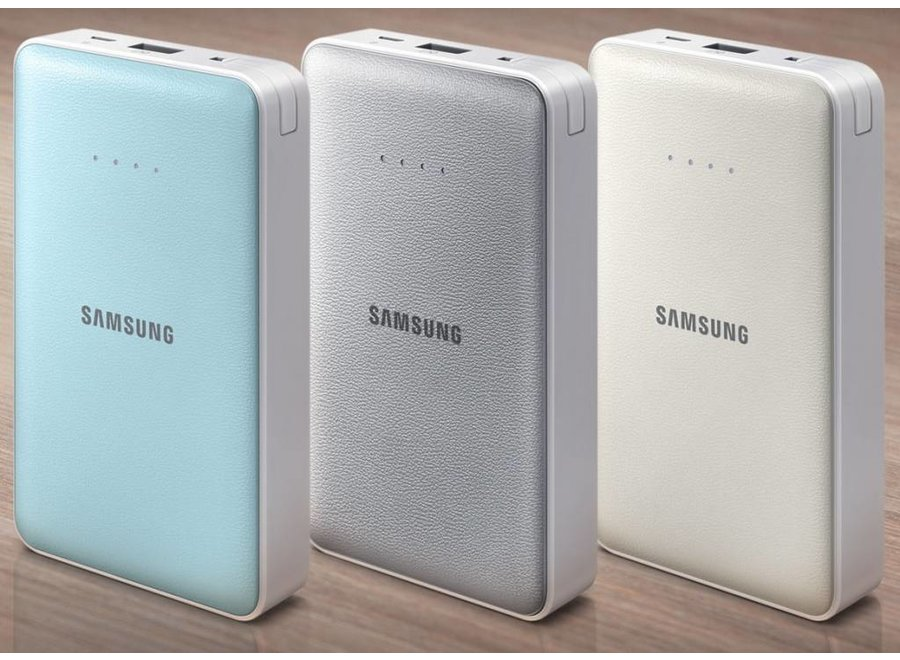 Samsung EB-PG850BS LED Universal External Battery Pack (8400 mAh) - Zilver