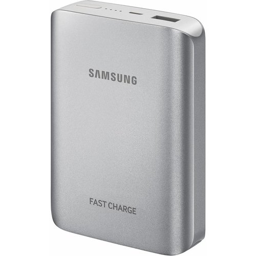 Samsung Samsung EB-PG935BS LED Powerbank Fast Charger 10200 mAh - Zilver