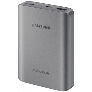 Samsung Samsung EB-PN930CS LED Powerbank Fast Charger 10200 mAh - Donkergrijs