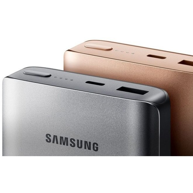 Samsung EB-PN930CS LED Powerbank Fast Charger 10200 mAh - Donkergrijs