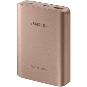 Samsung Samsung EB-PN930CZ LED Powerbank Fast Charger 10200 mAh - Roze-Goud