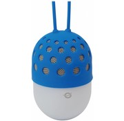 Conceptronic Conceptronic CSPKBTWPHLB Wireless Waterproof Bluetooth LED Speaker - Blauw