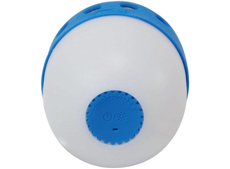 Conceptronic CSPKBTWPHLB Wireless Waterproof Bluetooth LED Speaker - Blauw