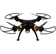 Syma Syma X8C Venture LED Quadcopter met 720p HD Camera - Zwart