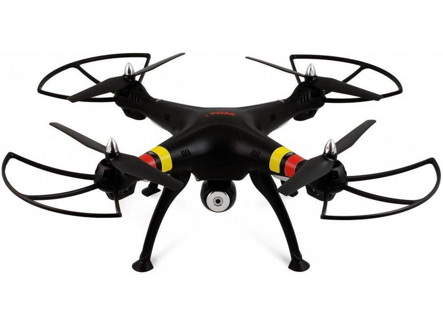 Syma X8C Venture LED Quadcopter met 720p HD Camera - Zwart