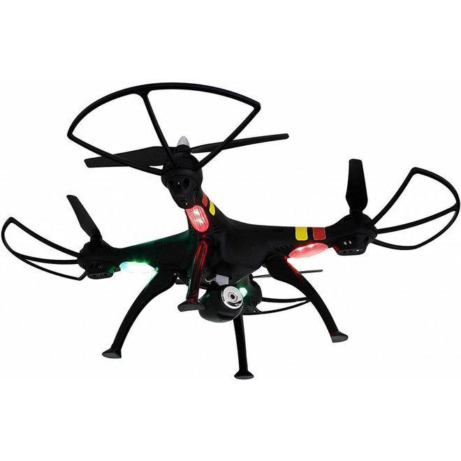 Syma X8C Venture LED Quadcopter met 720p HD Camera - Zwart