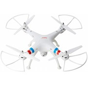 Syma Syma X8C Venture LED Quadcopter met 720p HD Camera - Wit