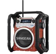 Sangean Sangean U4 DBT LED Bouwradio - Rood