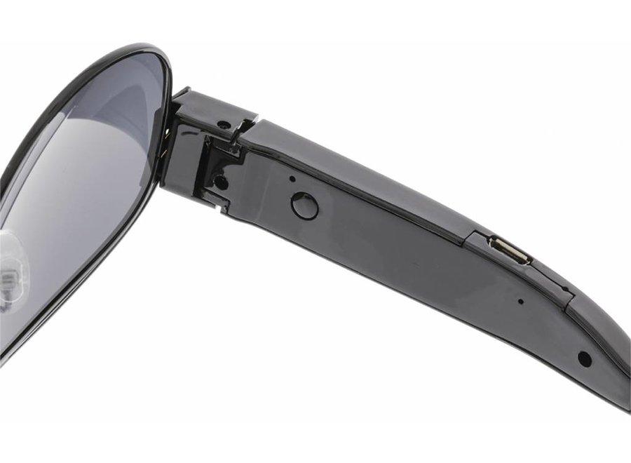 Konig Zonnebril met Verborgen Camera - Zwart