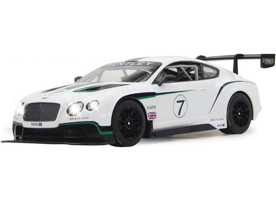 Jamara LED Bentley Continental GT3 RC 1:14 - Wit