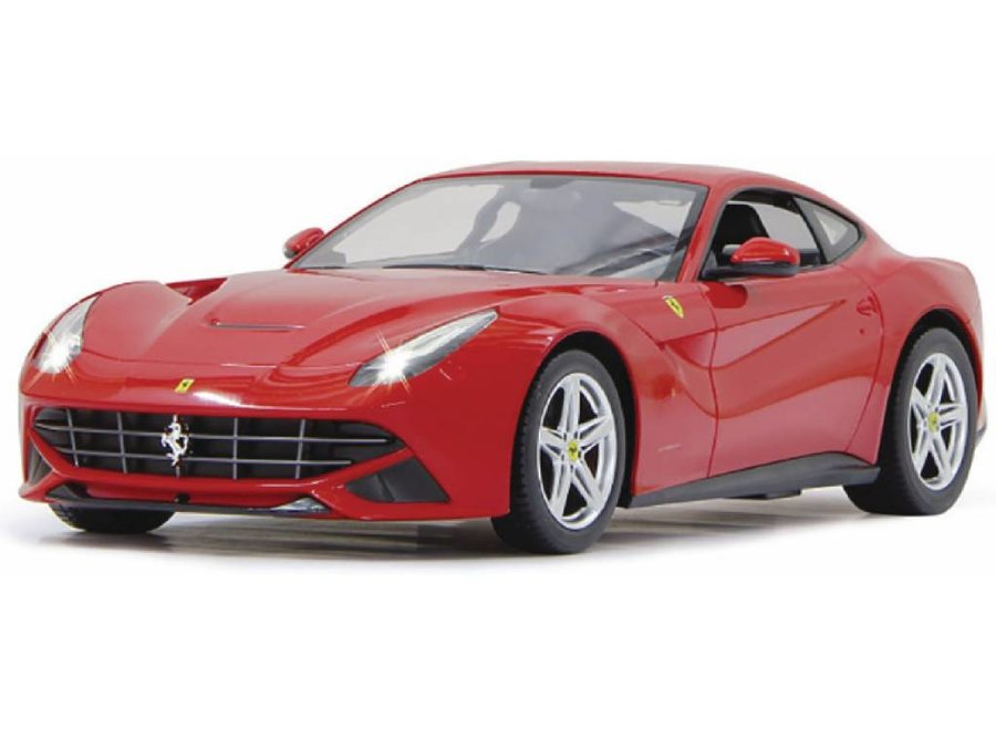Jamara LED Ferrari F12 Berlinetta RC 1:14 - Rood