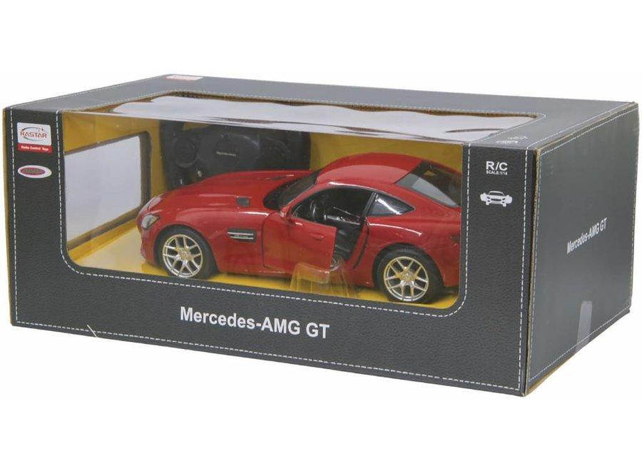 Jamara LED Mercedes-Benz AMG GT RC 1:14 - Rood