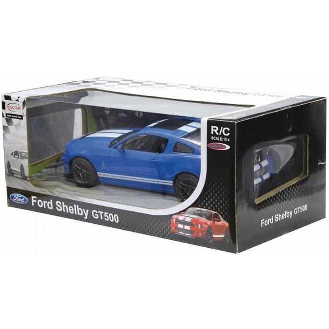 Jamara LED Ford Shelby GT500 RC 1:14 - Blauw