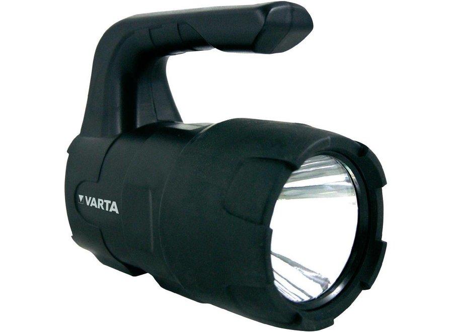 Varta Indestructible LED Zaklamp 4C - Zwart