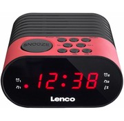 Lenco Lenco CR-07 LED Klokradio - Roze