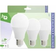 HQ HQ E27 A60 LED Lamp 3-pack 9W (60W) - 2700 K