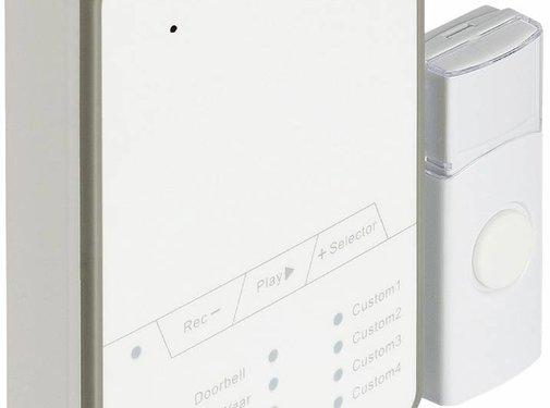 Konig Konig SAS-WDB212 Draadloze Deurbel 80 dB met Geluidsopname