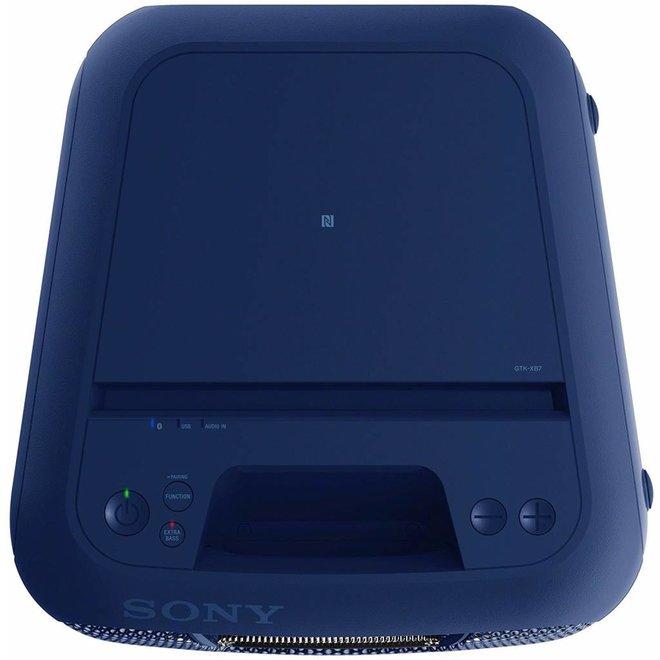 Sony GTK-XB7L LED Audiosysteem met Bluetooth - Blauw