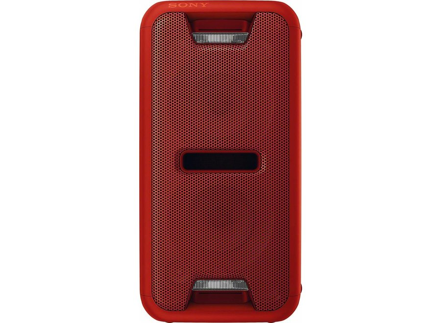 Sony GTK-XB7R LED Audiosysteem met Bluetooth - Rood