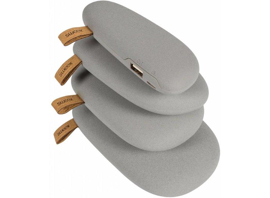 Sweex LED Powerbank 2600 mAh USB - Grijs