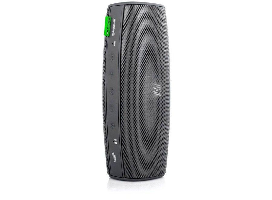 Muse M-710 BT LED Bluetooth Speaker Spatwaterdicht - Zwart