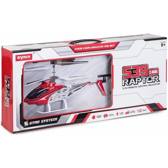 Syma S39 Raptor 2.4 Ghz - Rood