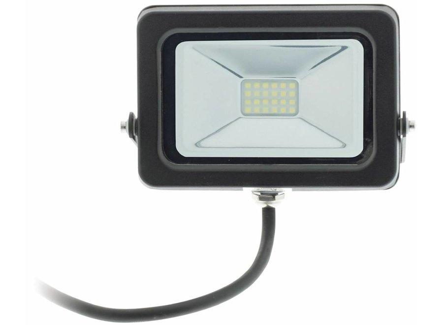 Konig LED Floodlight 5500 - 6500K 10 W - Zwart