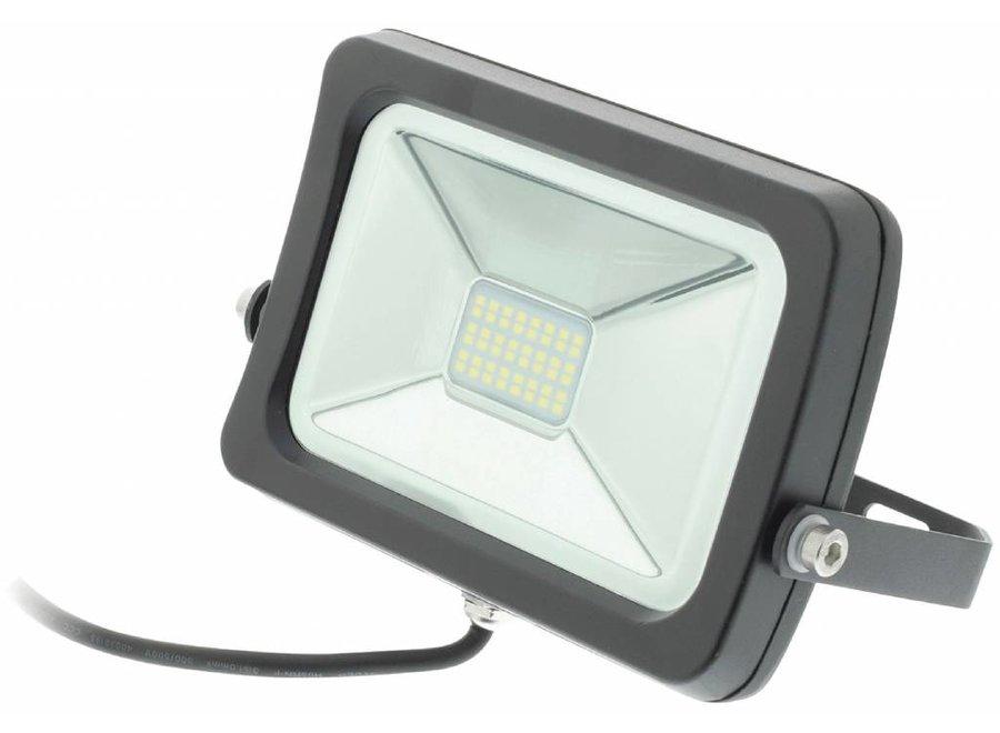Konig LED Floodlight 5500 - 6500K 20 W - Zwart