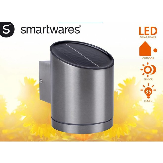 Smartwares Cuba LED Solar Wandlamp - Bewegingsmelder