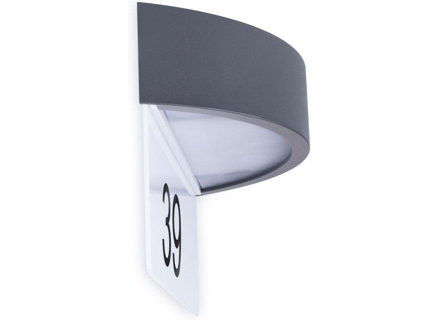 Smartwares Sensor LED Wandlamp met Huisnummer