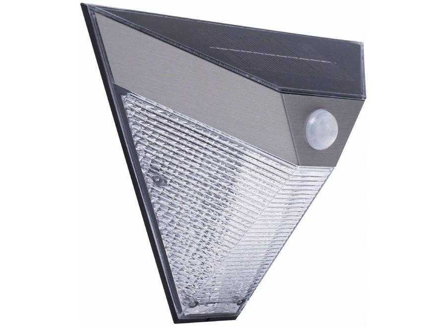 Smartwares 5000703 Solar LED Wandlamp met Bewegingsmelder