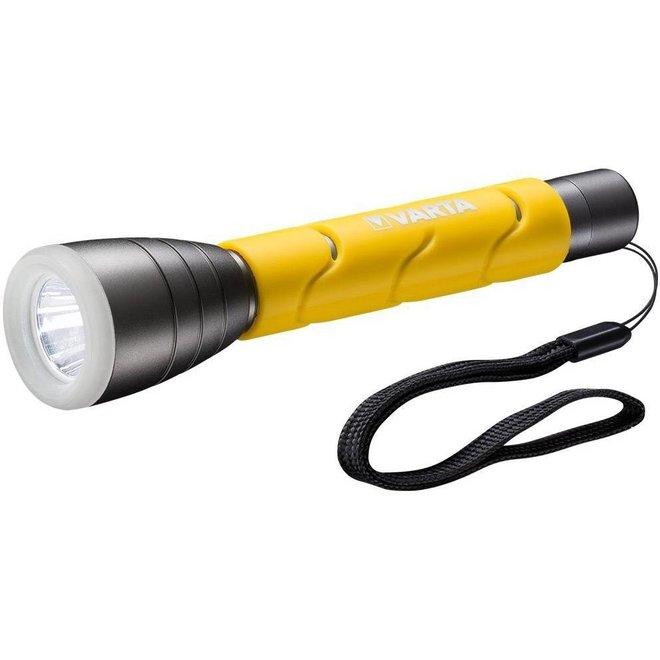 Varta LED Outdoor Sports Zaklamp 2 AA - Geel