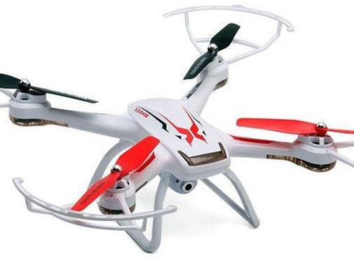 Syma Syma X54HC LED Drone met 2 MP HD Camera - Wit