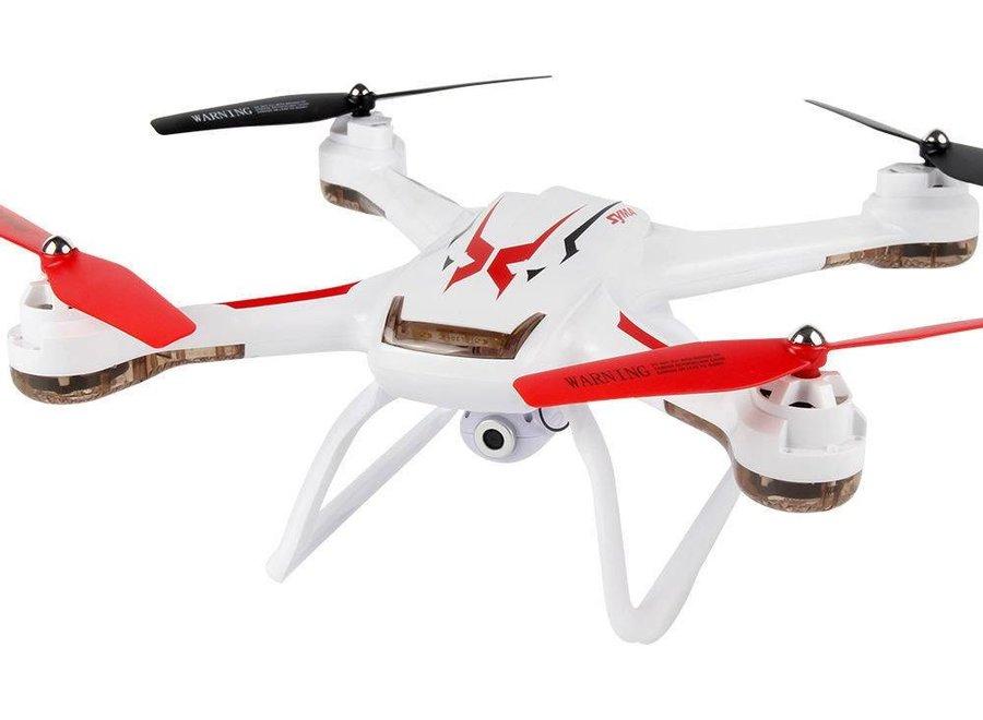 Syma X54HC LED Drone met 2 MP HD Camera - Wit