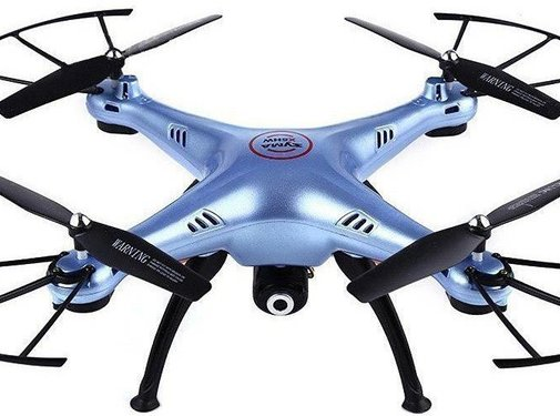 Syma Syma X5HW LED Drone FPV Real-Time - Blauw