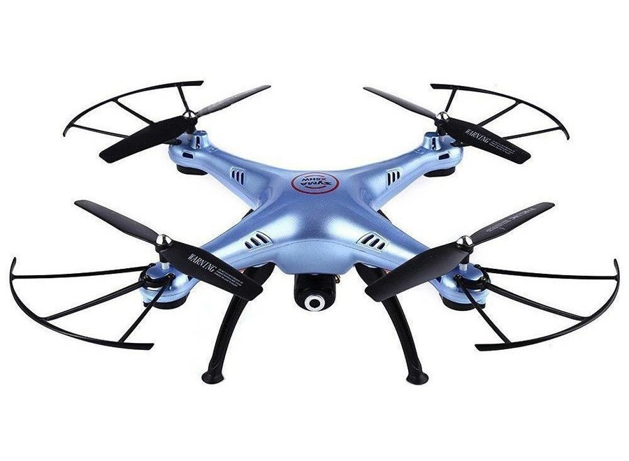 Syma X5HW LED Drone FPV Real-Time - Blauw