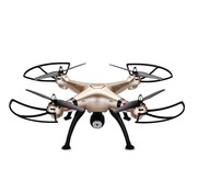 Syma Syma X8HC LED Drone met 720P HD Camera - Goud