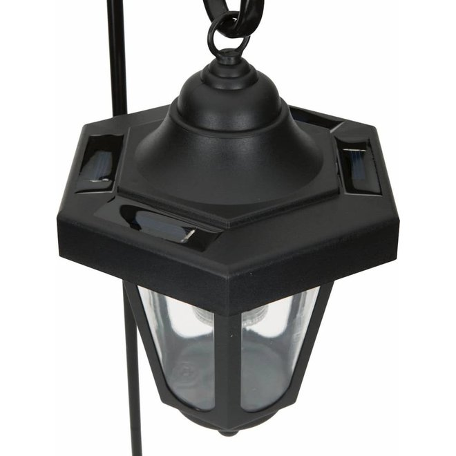 Ranex Claus Solar LED Lantaarn op Spies 2-pack