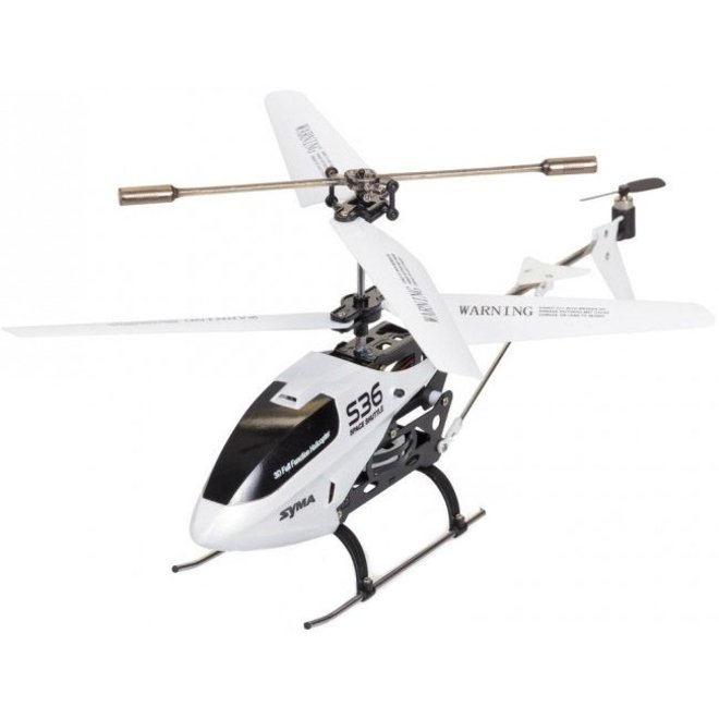 Syma S36 LED Helicopter - Wit
