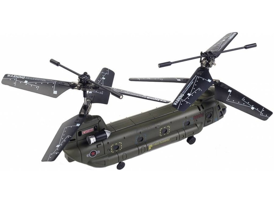 Syma S026G Mini Chinook LED Helicopter