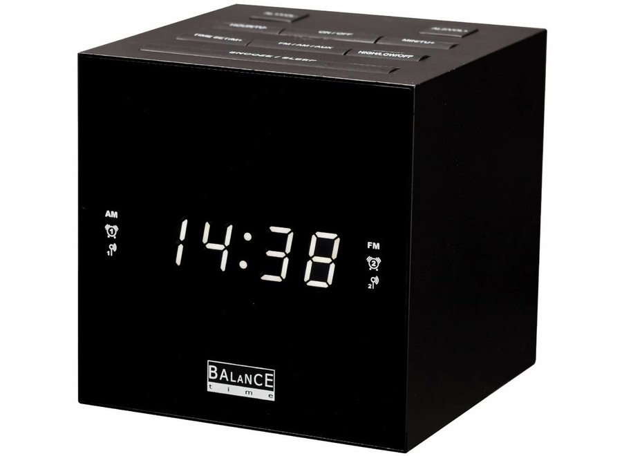 Balance Time 132638 LED Wekkerradio met USB laadfunctie