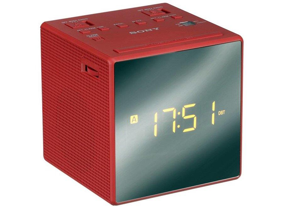 Sony ICF-C1TR LED Wekkerradio - Rood