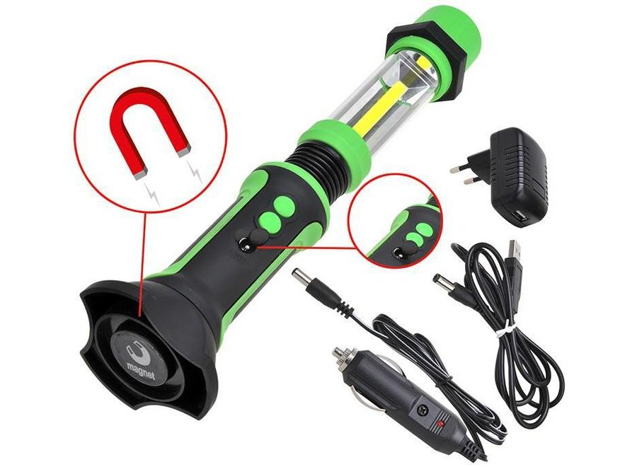 ProPlus Flexibele Looplamp COB LED Oplaadbaar met Haak en Magneet