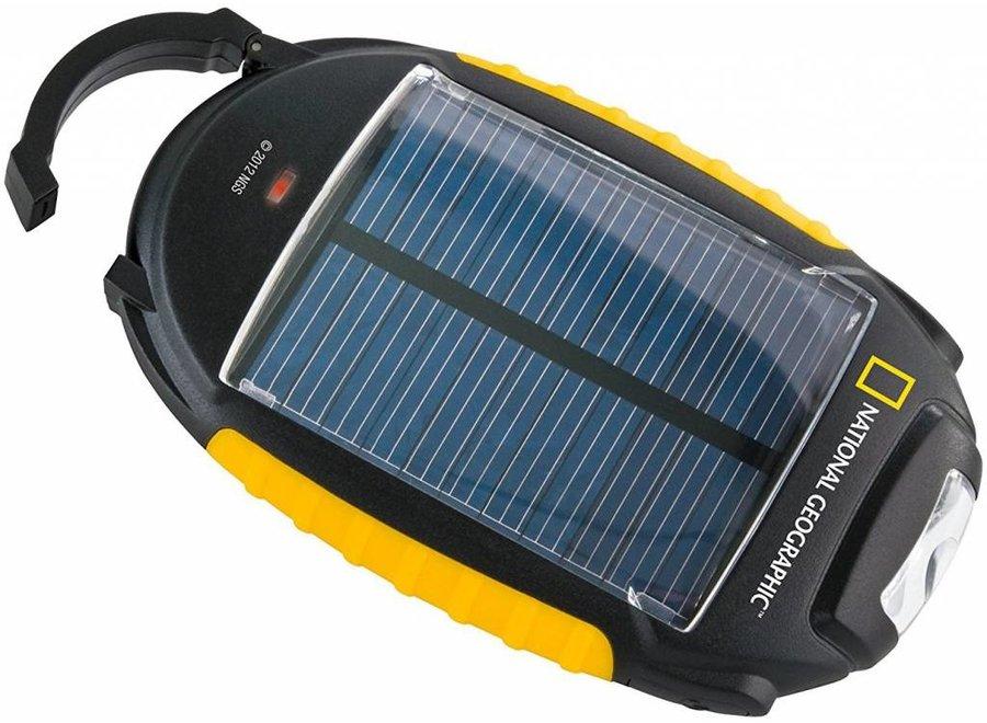 National Geographic Solar Oplaadbaar 4-in-1