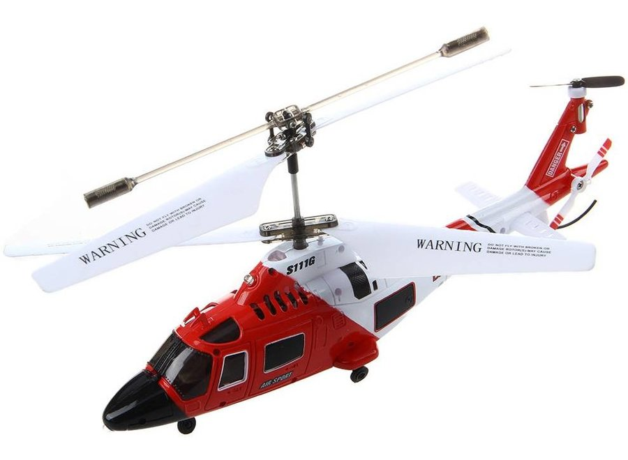 Syma S111G LED RC Helicopter