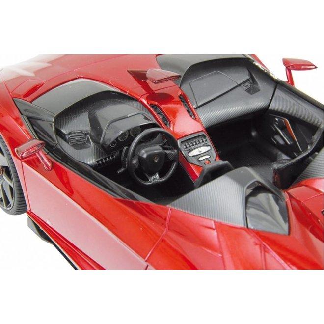 Jamara LED Lamborghini Aventador J RC 1:12 - Rood